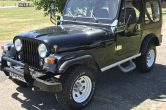 1981 CLASSIC JEEP WRANGLER 4.0 MANUAL – OWNED BY 1 FAMILY FROM NEW