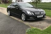 Mercedes E220 CDi Coupe 7G-Tronic Plus